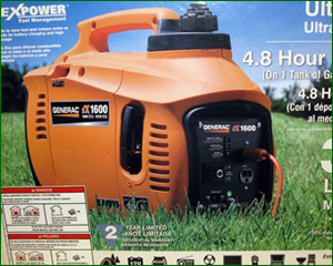 Click here for enlargement - Kelly's has generators for convenient emergency power