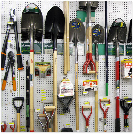 Kelly's Hardware has a complete selection of lawn & garden products