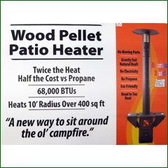 Click Here For Enlargement   Kellyu0027s Has The New Traeger Wood Pellet Patio  Heater ...